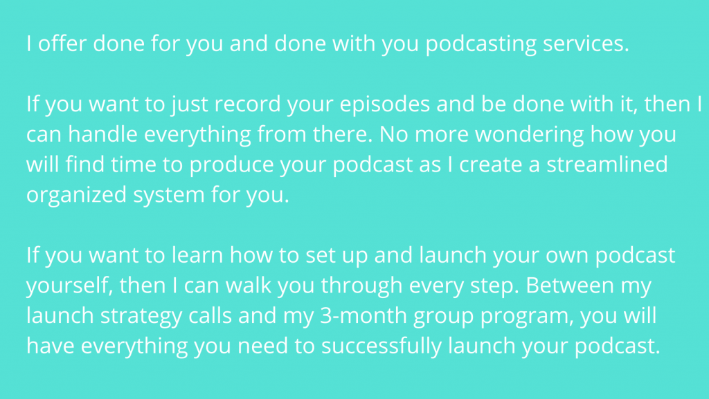 podcast services